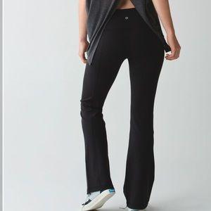 Lululemon Groove Pants sz 12 black Luon